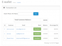 Smart E-wallet System